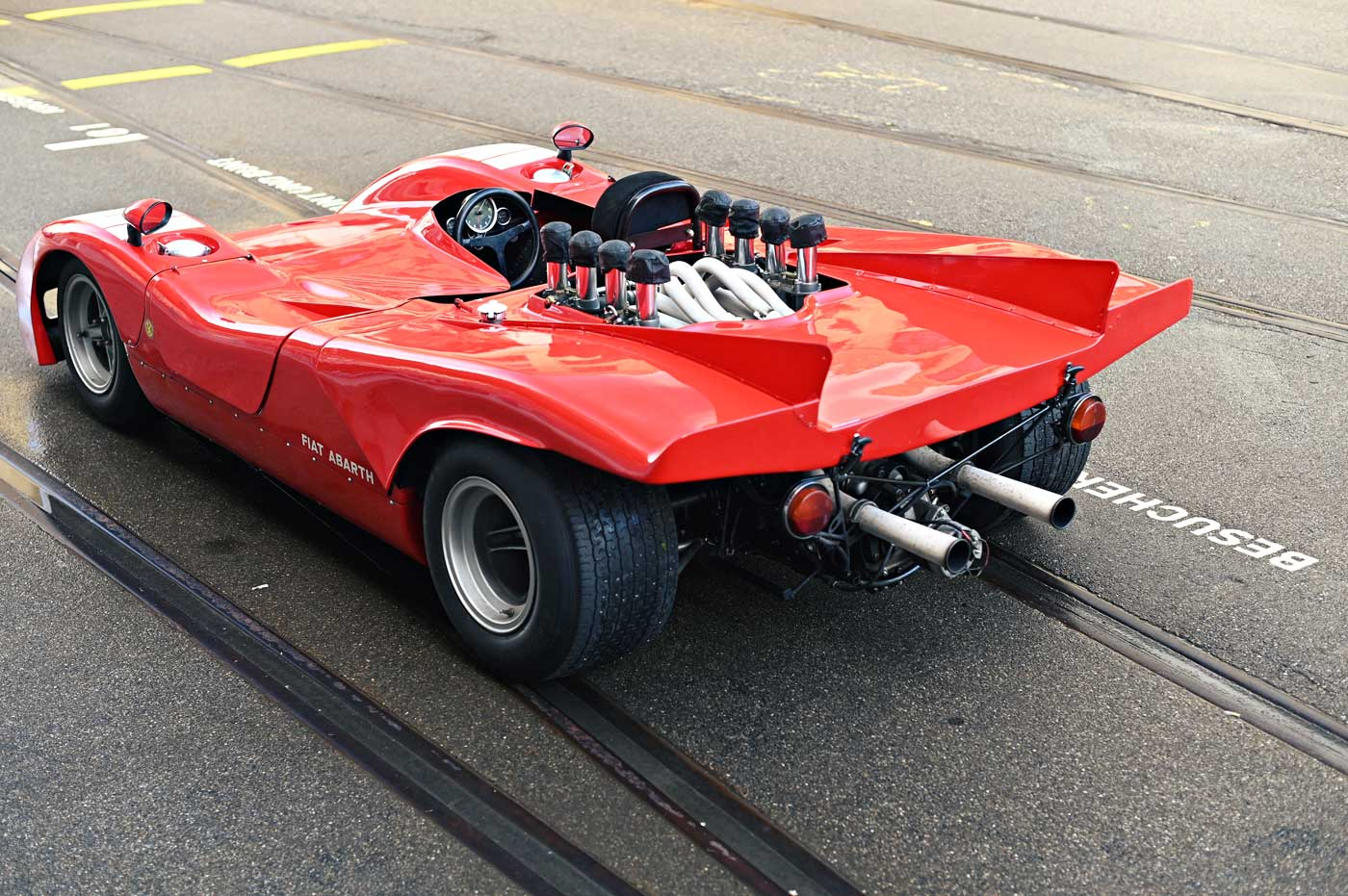 Read more about the article Abarth 3000 Sport Prototipo Injection, 1970
